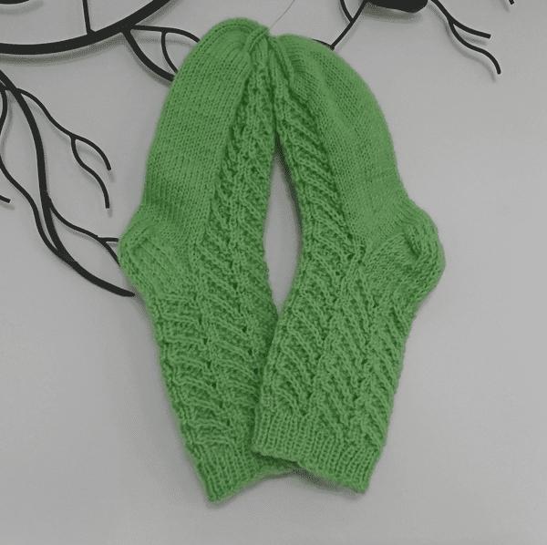vihreät villasukat 37